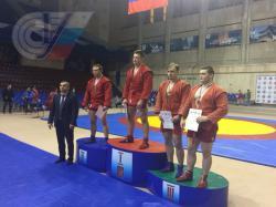 Студент РГУФКСМиТ завоевал золото на чемпионате Москвы по самбо среди студентов